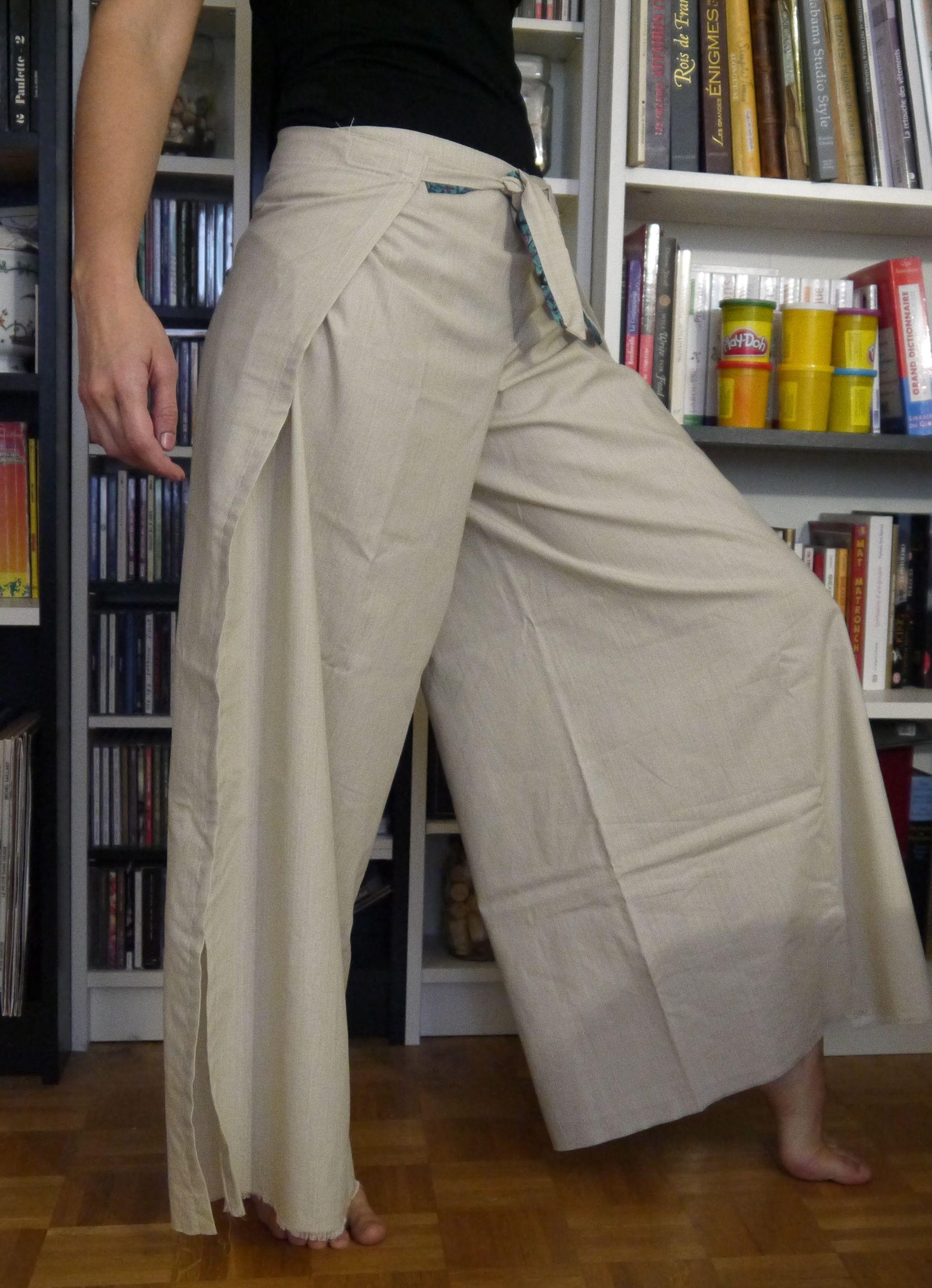 patron couture pantalon ete