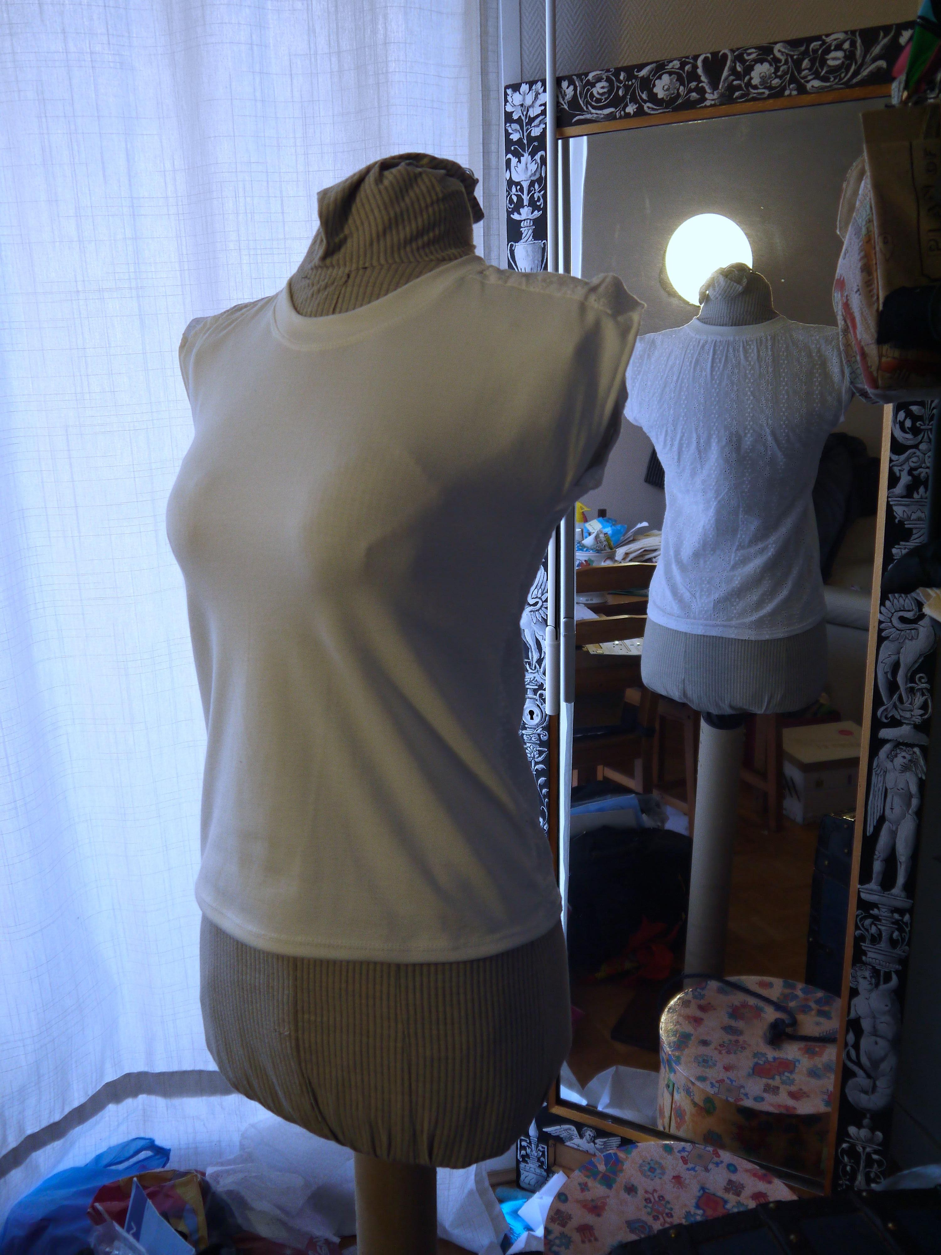 comment coudre le tissu extensible